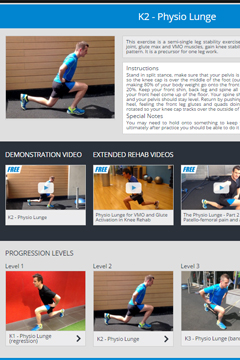OVER 350 DETAILED MOBILITY + REHAB EXERCISES